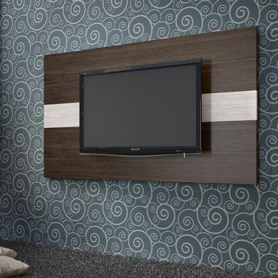 Painel para TV de 32 Ã 52 Paint Roble / Champanhe, Belaflex