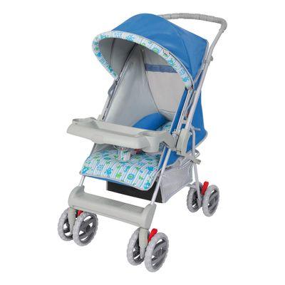 Carrinho de Bebe Tutti Baby Magni Náutico Azul