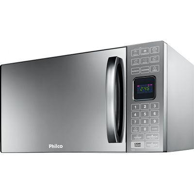 Forno Micro-ondas Philco PME25 25 Litros com Porta Espelhada 127V, Inox
