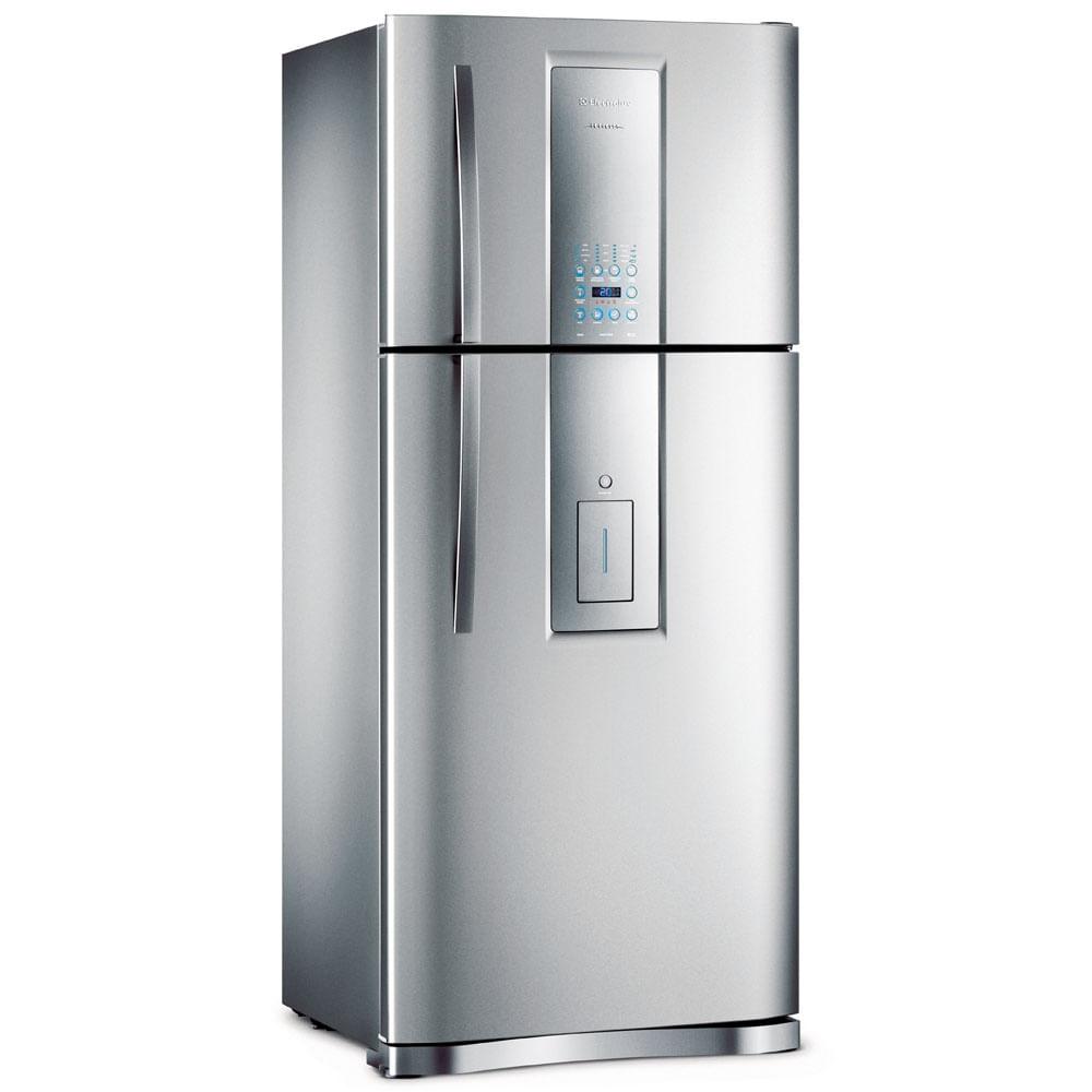 Refrigerador Frost Free Electrolux DI80X 546 Litros com Painel Blue Touch 127V, Inox