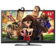 "Smart-TV-Plasma-3D-51""-PH51A36PSG-HD-HDMI-USB-Funcao-Ginga-Philco"
