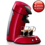 CAFETEIRA-SENSEO-DESLIGAMENTO-AUTOMATICO-HD781194-VERMELHA-127V-PHILIPS