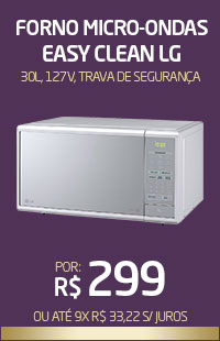 Banner 05 > Micro-Ondas LG