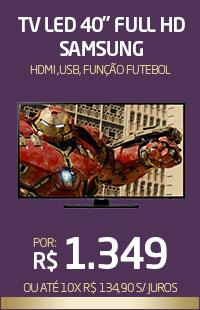 Banner 06 > TV 40 Full HD Samsung