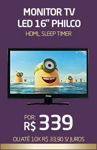Banner 02 > Monitor TV LED 16 Philco