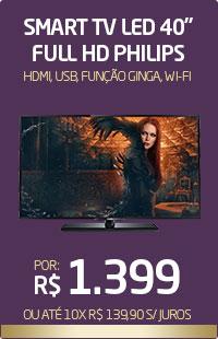 Banner 04 > Smart TV 40 Philips
