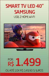 Banner 03 > Smart TV LED 40 Samsung