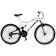 Bicicleta-Colli-Aro-26-com-Dupla-Suspensao-21-Marchas-Branca