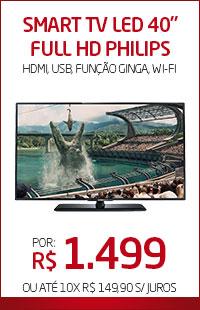 """Banner 06 > Smart TV LED 40"""" Philips"""