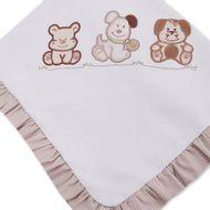Manta-em-Piquet-Lili-Baby-Penteada-Cachorrinhos-Bege-90Cm-X-76Cm_0
