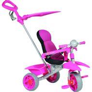 Triciclo-Bandeirante-Smart-Comfort-Rosa