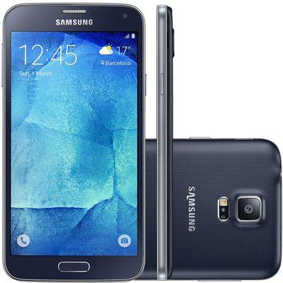 Smartphone Samsung Galaxy G903M S5 New Edition Duos, 4G Octa Core 1.6GHz Câmera 16MP Tela 5.1 ´ , Preto