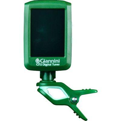 Afinador Digital Gtu I Verde E Branco Giannini