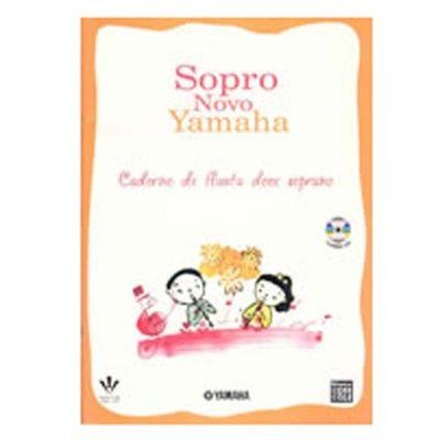 Método Para Flauta Doce Soprano Sopro Novo 379m Yamaha
