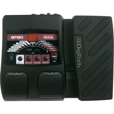 Pedaleira Multi Efeitos Com Pedal De Expressão Para Contrabaixo BP90 Digitech