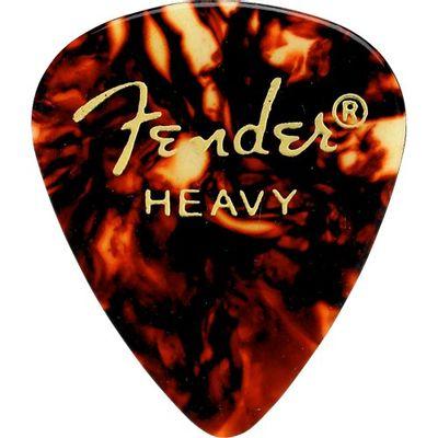 Palheta Tradicional 351 Grossa Shell Fender