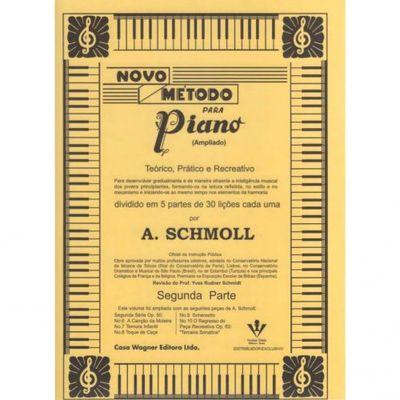 Método Rápido Para Piano Volume 2 A. Schmoll Irmãos Vitalle