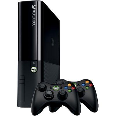 Console Xbox 360 4GB + 2 Controles Bivolt, Preto