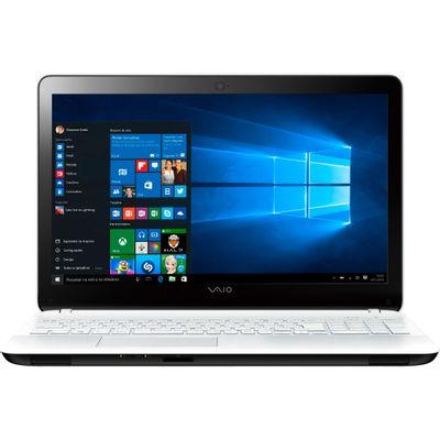 "Notebook Vaio Fit 15F VJF153B0211W, Processador Intel Core i5 4GB 1TB Windows 10 Tela 15.6"", Branco"