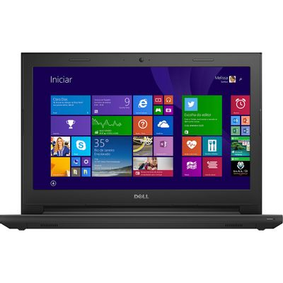 Notebook Dell Inspiron I14-3442-C10, Intel Core i3 4GB 1TB Windows 10 Tela LED 14