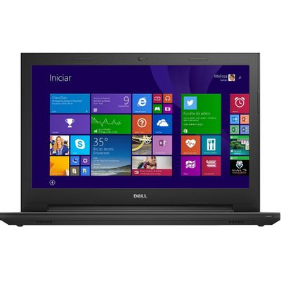 Notebook Dell Inspiron 15 I15-3542-C30, Intel Core i5 4GB 1TB Windows 10 Tela LED HD 15.6