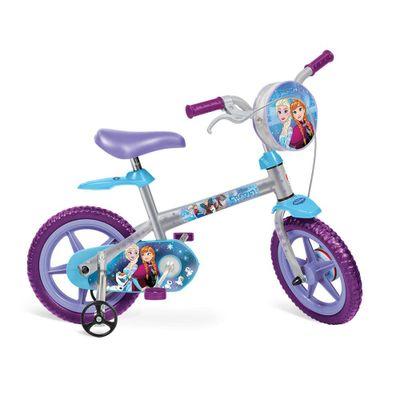 Bicicleta Frozen Bandeirante Aro 12, Prata