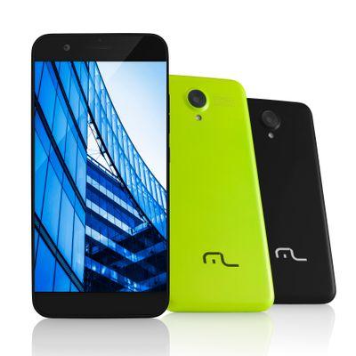 Smartphone Multilaser Ms50, 4g Android 5.0 Quad Core 8gb Câmera 8mp Tela 5.0, Preto