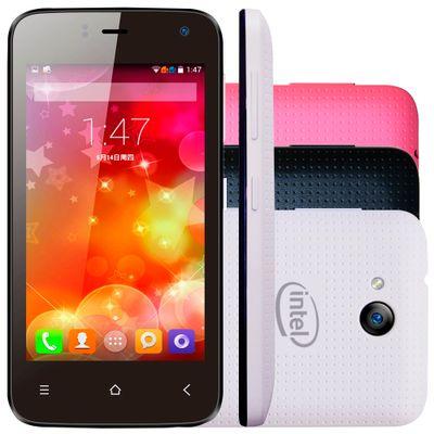 Celular Smartphone Qbex W4010 4gb Preto - Dual Chip