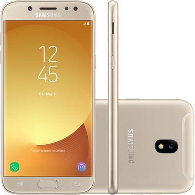 Smartphone Samsung Galaxy J5 Pro Sm-j530g, 4g Octa Core 1.6ghz 32gb Câmera 13mp Tela 5.2, Dourado
