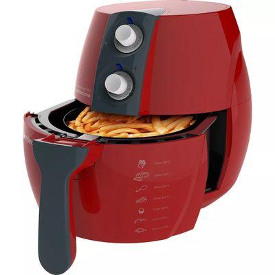Fritadeira sem Óleo Cadence FRT541 127V, Vermelha