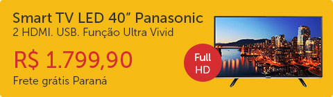 Smart TV LED 40 Panasonic