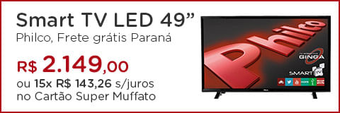 "Smart TV LED 49"" Philco"