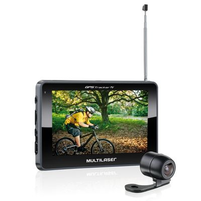 GPS MULTILASER TRACKER TV+CAM 4.3