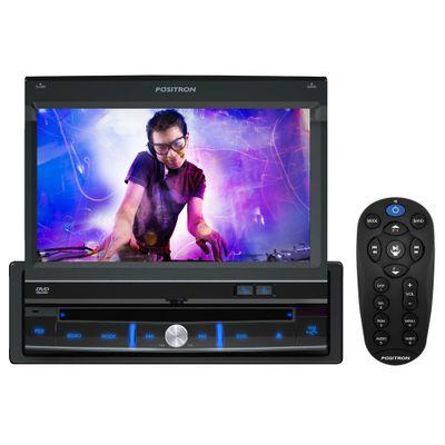 DVD Player Automotivo SP6300AV, USB e Leitor de Cartão SD Tela Touchscreen 7, Pósitron