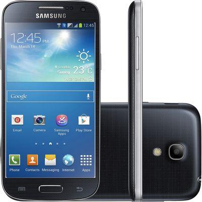 Smartphone Samsung I9192 Galaxy S4 Mini Duos, 3G Android 4.2 Dual Core 1.7 GHz Câmera 8MP Tela 4,3 ´ Preto