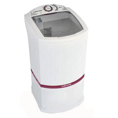 Lavadora de Roupas Colormaq Semiautomática LCM 10kg 127V, Branca