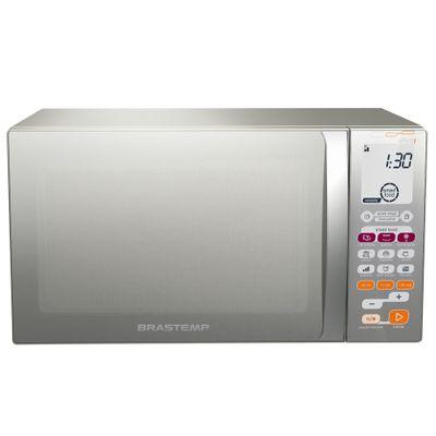 Forno Micro - ondas BMT45B 30L com Função Grill e Smart Food Inox, 127V - Brastemp