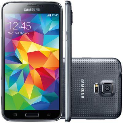 Smartphone Samsung Galaxy S5 G900M, Preto