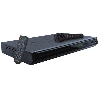 DVD Player Philco, MP3 PH156 Bivolt Preto