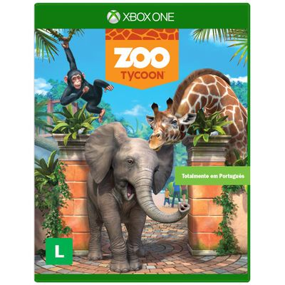 JOGO PARA XBOX ONE GAME ZOO TYCOON MICROSOFT JOGO P X ONE GAME ZOO TYCOON U7X 00004 MICROSOFT