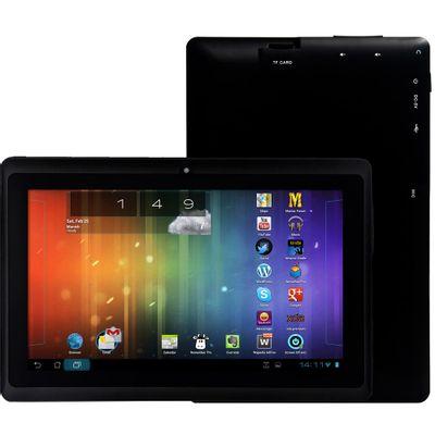 Tablet Space BR Câmera 2MP Tela 7, Preto
