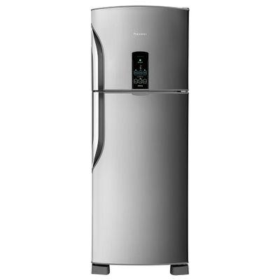 Refrigerador Frost Free Panasonic 483 Litros Tecnologia Econavi e Painel Eletrônico 127V, Aço Escovado