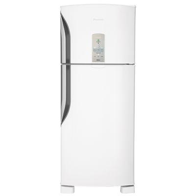 Refrigerador Frost Free Panasonic 435 Litros Tecnologia Econavi e Painel Eletrônico 127V, Branco