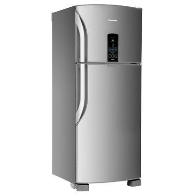 Refrigerador Frost Free Panasonic 435 Litros Tecnologia Econavi e Painel Eletrônico 127V, Aço Escovado