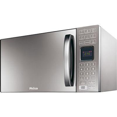 Forno Micro - ondas Philco PME25 25 Litros com Tecla Kids 127V, Aço