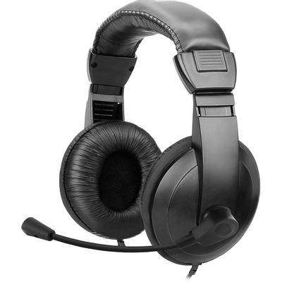 Fone de Ouvido Headset Lite HS-102 Multimídia, Preto