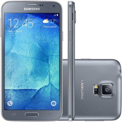 Smartphone Samsung Galaxy G903M S5 New Edition Duos, 4G Octa Core 1.6GHz Câmera 16MP Tela 5.1 ´ , Prata