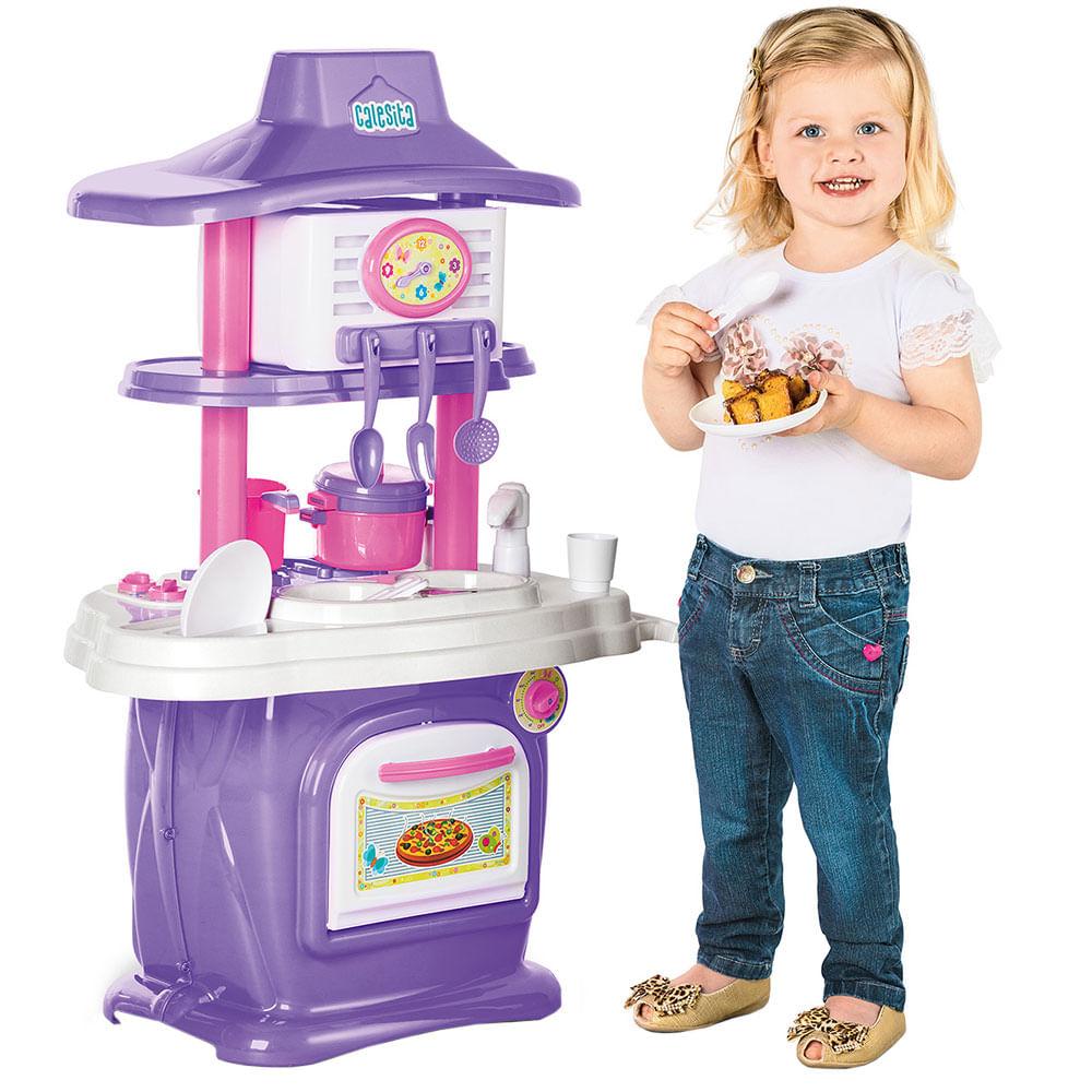 Cozinha Infantil Le Grand Chef 1310 Rosa Lil S Calesita Supermuffato