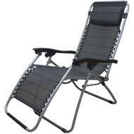 Cadeira-Espreguicadeira-Relax-Cinza-Sunfit
