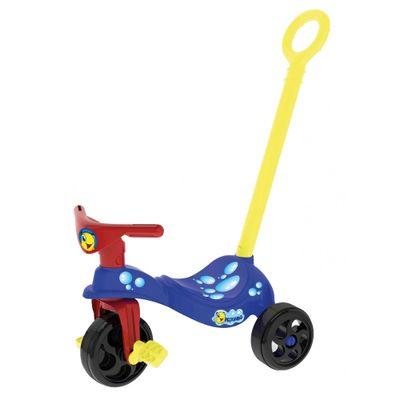 Triciclo-Peixinho-com-Empurrador-Xalingo-AzulVermelho
